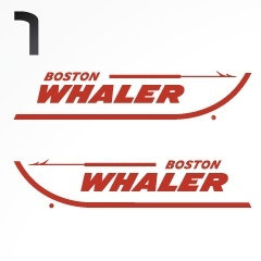 Boston Whaler Boat Decal