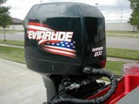 EVINRUDE 150 bombardier ficht ram injection set - Outboard