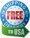 Free Shipping to all U.S.A. orders