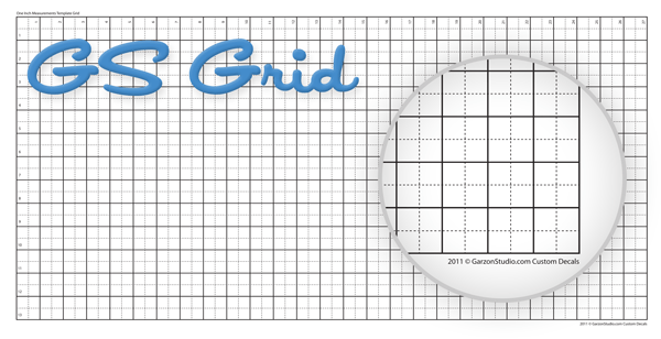 GS Grid decal replica tool