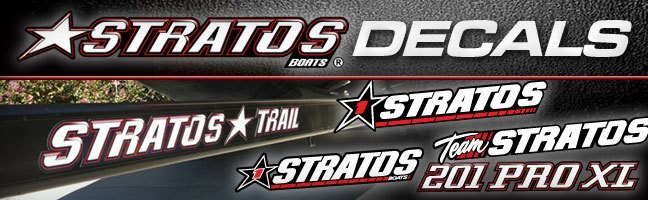 Stratos Boats Decals