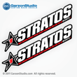 Stratos Boats Decals set