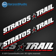 1 Stratos Boats Decals set