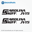 carolina skiff vj15 decals