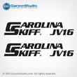 carolina skiff decals