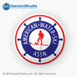AWSA American Water Ski ASSN. Decals