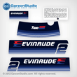 1979 Evinrude 2 hp decal set