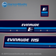 1982 evinrude outboard 90 hp decal set 1982 90hp horse power 0281893 281893