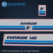 1982 evinrude outboard 90 hp decal set 1982 90hp horse power 0281863 281863