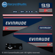 evinrude outboard decals 1989 1990 1991 10 hp 10hp 9.9 hp 9.9hp horse power 283751	0283751, 0283752, 0283753, 0283814 DECAL SET 0211422, 0211159 FRONT PLATE DECAL
