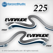 1999 2000 Evinrude Outboard decals 225 hp 225hp horsepower ficht direct fuel injection decal set
