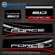 1995-1997 Force 50 hp decals 820734A95 DECAL SET FORCE outboard (INCLUDES FRONT-REAR-PORT-STARBOARD) 1995 1996 1997 H050312RD H050312RR H050312RX H050412RD H050312SD H050412SD H050412ST H050312TD H050412TD H050412TT elpt el