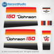 Johnson 1979 150 hp decal set V6 Magflash CD sticker kit replica