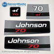 1992 1993 1994 1995 1996 johnson outboard 70 hp decal set decals 0437083 0435630 0437762