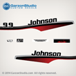 johnson outboard decals stickers set kit 10 hp 10hp horsepower h.p. horse power  0438310 0438312 0438309 ENGINE COVER ASSY  1997-1998 JOHNSON 9.9 HP 0438433 DECAL SET  JOHNSON 1997 BJ10RELEUS BJ15RELEUC J10EEUS J10ELEUS J10RELEUS J10REUS J10RLEUS J10SELEUS  JOHNSON 1998 J10EECC J10ELECC J10RECC J10RELECC J10RLECC J10SELECC