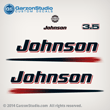 2003 2004 2005 2006 johnson 3.5 3 hp engine decals for 03-06 outboards J3RSDE J3RSNF J3RSOD J3RSRE J3RSTB J3RSTF