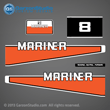 >1982 mariner 8 hp decal set