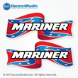 Mariner Outboard Decal American Flag