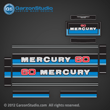 1980 1981 1982 Mercury 60 hp decals decal 60hp