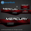 MERCURY 125 hp 1994 1995 1996 1997 1998 1999 823410A96  37-823410A00 decal set red