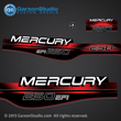 MERCURY 250 hp  efi 1994 1995 1996 1997 1998 37-## decal set