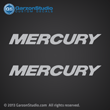Mercury direct injection decal for 2006 2007 2008 2009 2010 2011 2011 motor cowling 200xs 250 xs 300 xs