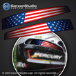 Mercury racing air intake channel U.S. USA United States Flag decal set 2001 2002 2003 2004 2005 motor cover 300 hp 300xs 300x 300xshp vent sticker stickers