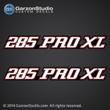 Stratos Boats 285 pro xl Decals set